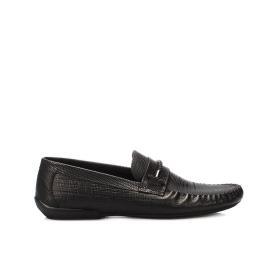 لوفي - حذاء موديل مجذل جلد طبيعي 100%