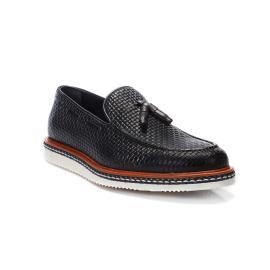 لوفر - الحذاء المحجر المريح جلد طبيعي 100%