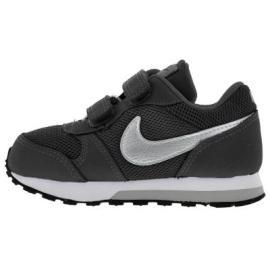 حذاء رياضي للاولاد باللون الفضي الغامق من ماركة نايك