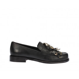 حذاء جلد نسائي 100%