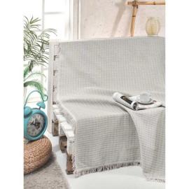 غطاء اريكة بالون الفضي