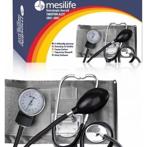 مقياس ضغط الدم الزئبيقي مع سماعه الطبيب ماركة MESILIFE